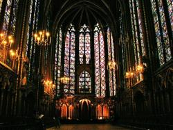 Ste Chapelle cathedral wallpaper