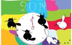 Cats 2014 New Year