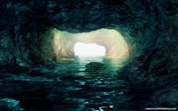 Underwater Cave by coccoluto