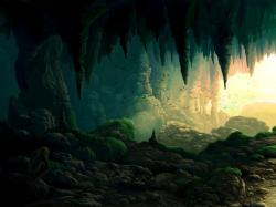 Fantasy Cave Wallpaper Picture Wallpaper