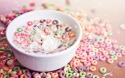 Cereal Milk Bowl Splash