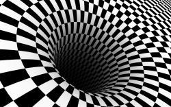 ... Checkered vortex wallpaper 1920x1200 ...