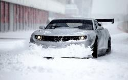 Chevrolet Camaro GT3 650HP Winter Snow