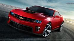 Camaro Red Car Wallpaper<br ...
