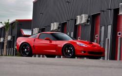 Chevrolet Corvette Red Car