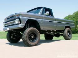 Very Best 66 Chevy C10 Lifted