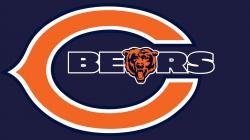 Chicago Bears logo Hd 1080p high quality Wallpaper screen size 1920X1080