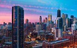 Chicago Cityscape, Illinois, USA