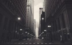 Chicago monochrome