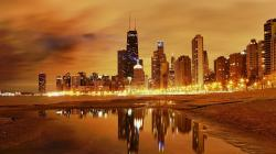 Chicago Sunset Wallpaper Pictures 5 HD Wallpapers