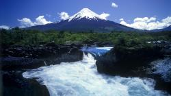 chilean volcano pictures | Volcano Chile Wallpaper with 1920x1080 Resolution | photography | Pinterest