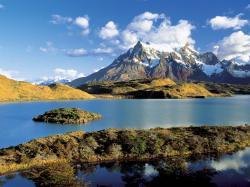Pehoe Lake Chile Wallpaper