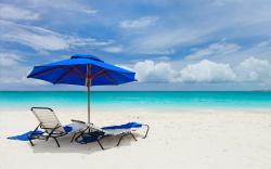 Chilling at Beach Wallpaper in 1920x1200 Widescreen