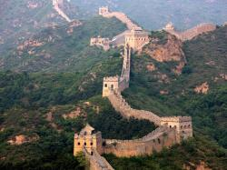 Calculating its ramifications and interior construction is estimated that the wall has at least 8851 miles long, stretching from the border of Korea over ...
