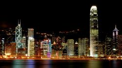 hong kong night background wallpapers