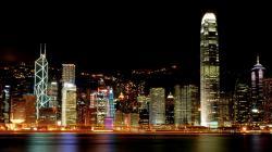 hong kong night background wallpapers