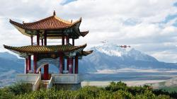 Download Jade Dragon Snow Mountain (Yulong Mountain), China Wallpaper :