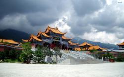 Chongsheng Temple In Yunnan China Wallpaper #121966 - Resolution 2560x1600 px