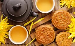 Chinese tea pastry