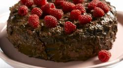 Cake Chocolate And Red Cherri Wallpaper Download
