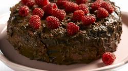 Cake Chocolate And Red Cherri Wallpaper Download