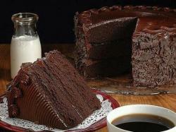 Cakes. chocolate cake
