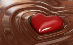 Chocolate Love Wallpaper