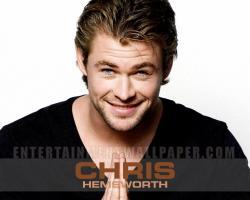 Chris Hemsworth Australian actor wallpaper
