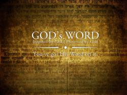 GOD's Word Christian HD Wallpaper