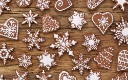 Awesome Christmas Cookies Wallpaper 19678