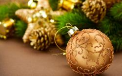 Christmas Decorations Pine Cones New Year Holiday
