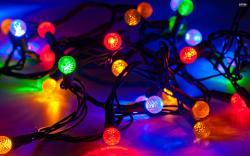 Christmas Lights Wallpaper 05