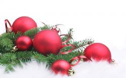 Christmas Red Christmas decorations