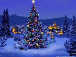 Christmas Christmas Tree,Wallpaper