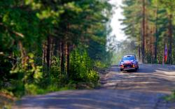 Citroen rallye tilt shift