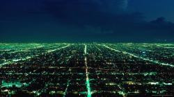 City Lights Green