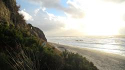 File:Lincoln City Beach from NW 26th Street Steps.Jpg
