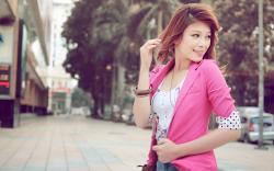 City Beautiful Asian Girl