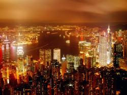 Hong Kong - The City Night Lights