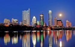 City Skyline Austin tx