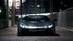 City Street Lamborghini Aventador LP700-4