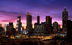 Cityscape in the Evening (click to view)