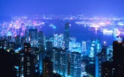 Cityscape Blue Picture