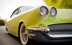Classic green oldtimer