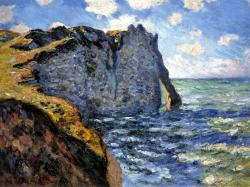 The Manneport - Claude Monet