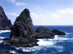 Cliff In The Sea Wallpaper