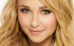 3840x2400 Wallpaper hayden panettiere, blonde, face, makeup, eyes, close-up