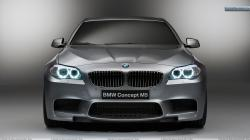 """Download 03 Dec 2011 View. You are viewing wallpaper titled """"Front Closeup Picture of 2012 BMW M5 ..."""
