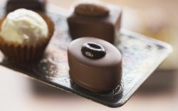 Dessert Candies Close Up