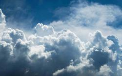 DOWNLOAD: blue clouds free picture 2560 x 1600